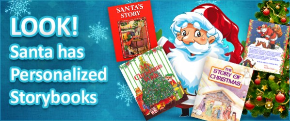 Books About Me Santa Has Personalized Storybooks