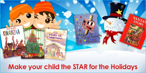 Make your child the star for the Holidays