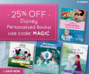 Put Me In A Story 25% OFF Disney Personalized Books