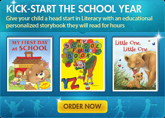 Kick-Start The School Year With Personalized Books About Me