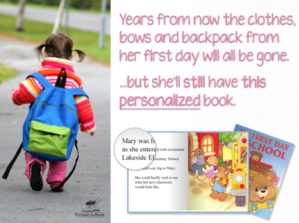 Books About Me Back to School Educational Stories with a Spotlight
